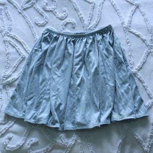 Randy Melville baby blue super soft skater skirt